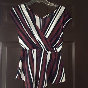 Express Strip Blouse